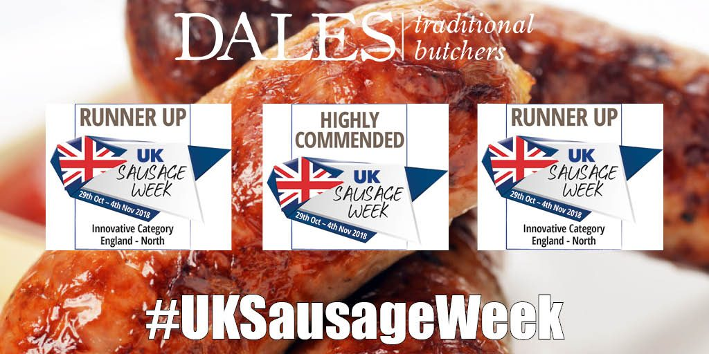 Dales Butchers - UK Sausage Week Awards