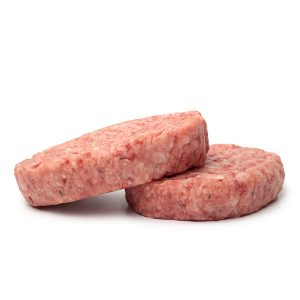freshly made pork and apple burgers - Dales Butcehrs Cumbria